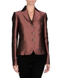 Michael Kors - Purple Blazer - Lyst