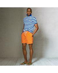 Polo Ralph Lauren - Orange Traveler Swim Shorts for Men - Lyst