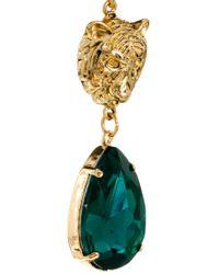 ASOS - Green Lion Heart Earring - Lyst