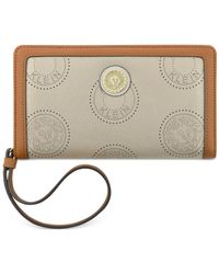 Anne Klein | Gray New Recruits Perforated Wristlet | Lyst