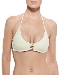 Pilyq - Natural Zen Braided Swim Top - Lyst