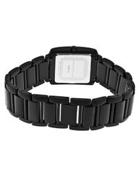 Kenneth Jay Lane - 1600 Series Black Resin And Case Mop Dial - Lyst
