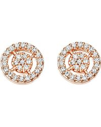 Astley Clarke | Pink Mini Icon Aura Stud Earrings | Lyst