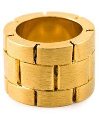 Acne Studios - Metallic 'Elisa' Ring - Lyst