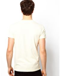Pepe Heritage | White Tshirt Vintage Logo One Pocket for Men | Lyst