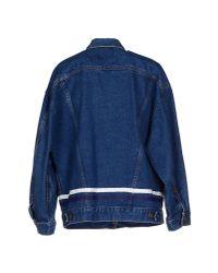 Harvey Faircloth | Blue Denim Outerwear | Lyst