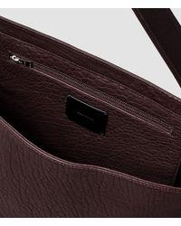 AllSaints - Purple Paradise Satchel Bag - Lyst