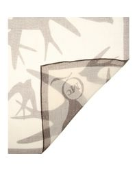 McQ Natural Printed Scarf