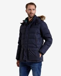 Ted Baker - Blue Vipers Suede Bomber Jacket for Men - Lyst