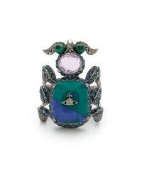 Vivienne Westwood | Salome Ring - Blue | Lyst