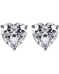 Carat* - Multicolor Hearts For You 0.75ct Solitaire Stud Earrings - Lyst