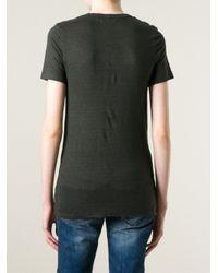 Étoile Isabel Marant | Black 'Keiran' T-Shirt | Lyst