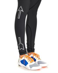 The Upside | Gray Prana-Print Performance Leggings | Lyst