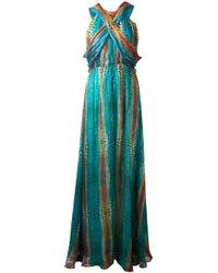 Issa | Green Maxi Dress | Lyst