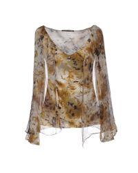 Roberta Scarpa - Natural T-shirt - Lyst