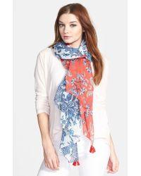 Echo - Multicolor 'Spellbound' Tassel Wrap - Lyst