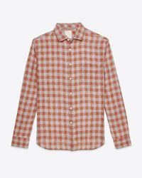 Billy Reid | Red John T Shirt for Men | Lyst
