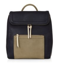 Accessorize | Black Kira Colourblock Backpack | Lyst