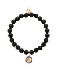 Melissa Odabash | Black Onyx And Rose Gold Bracelet | Lyst