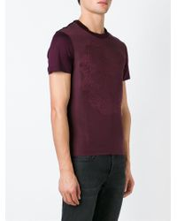 Alexander McQueen | Embroidered Skull T-shirt for Men | Lyst