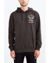 Vans   Black Glasgow Fleece Pullover Hooded Sweatshirt for Men   Lyst