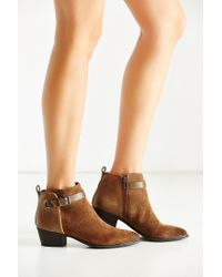 Circus by Sam Edelman   Brown Harlow Ankle Boot   Lyst