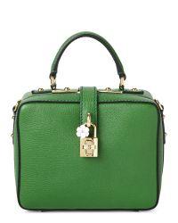 Dolce & Gabbana - Green Rosaria Mini Leather Shoulder Bag - Lyst