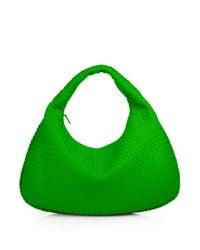 Bottega Veneta - Green Veneta Medium Hobo Bag - Lyst