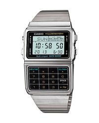 G-Shock - Metallic DBC-611E-1EF Calculator Digital Watch for Men - Lyst