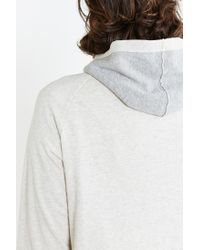BDG | White Colorblock Pullover Hooded Sweatshirt for Men | Lyst