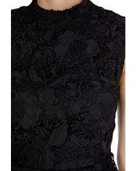 Coast - Black Miley Lace Dress - Lyst