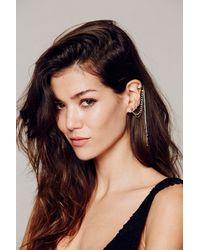 Free People | Purple Womens Cuff To Post Earring | Lyst