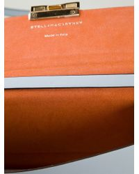 Stella McCartney - Blue Beckett Mini Faux-Leather Satchel - Lyst