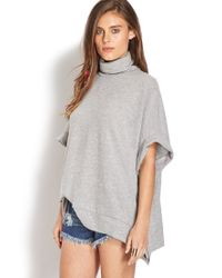 Forever 21 | Gray Gallery Girl Sweater | Lyst