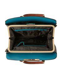 Dune | Black Dixxie Front Zip Detail Top Handle Bag | Lyst