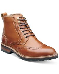 Florsheim | Brown Kilbourn Wingtip Boots for Men | Lyst