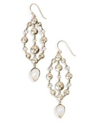Melinda Maria | Metallic 'savannah' Drop Earrings | Lyst