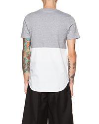 Kris Van Assche | Green Shirt T-Shirt | Lyst