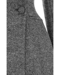 Martin Grant   Gray Empire Long Coat   Lyst
