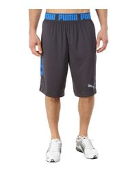 PUMA | Blue Mixed State Shorts Ii for Men | Lyst