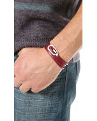 Miansai - Purple New Gamle Bracelet for Men - Lyst
