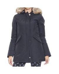 Woolrich | Blue Jacket | Lyst