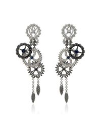 Paul Morelli | Metallic Macchina Earrings | Lyst