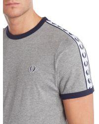 Stussy | Gray Plain Crew Neck Regular Fit T-shirt for Men | Lyst