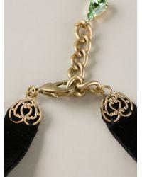 Dolce & Gabbana - Metallic Key Pendant Necklace - Lyst
