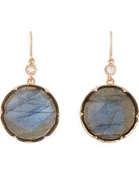 Irene Neuwirth | Pink Women's Gemstone Double-drop Earrings | Lyst