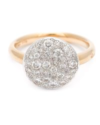 Pomellato | Metallic Diamond Pavé Ring | Lyst