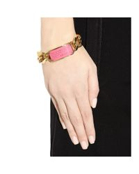 Marc By Marc Jacobs - Pink Standard Supply Bracelet - Lyst