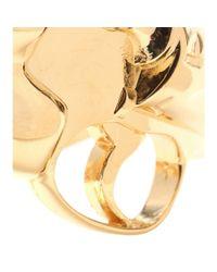Saint Laurent - Metallic Cuff Bracelet - Lyst