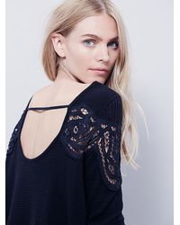 Free People | Blue Fp Collection Womens Day Dream Tee | Lyst